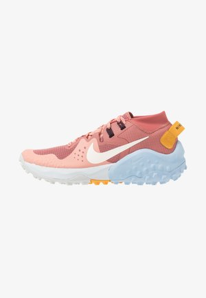 WILDHORSE 6 - Trail running shoes - canyon pink/pale ivory/pink quartz/sky grey/psychic blue/pollen rise