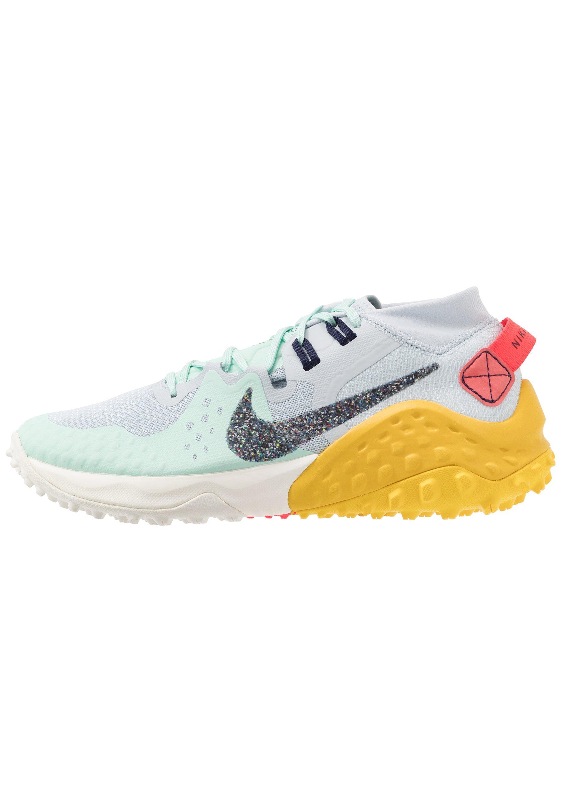 WILDHORSE 6 Chaussures de running aurablackened bluemintspeed yellowlaser crimsonsail