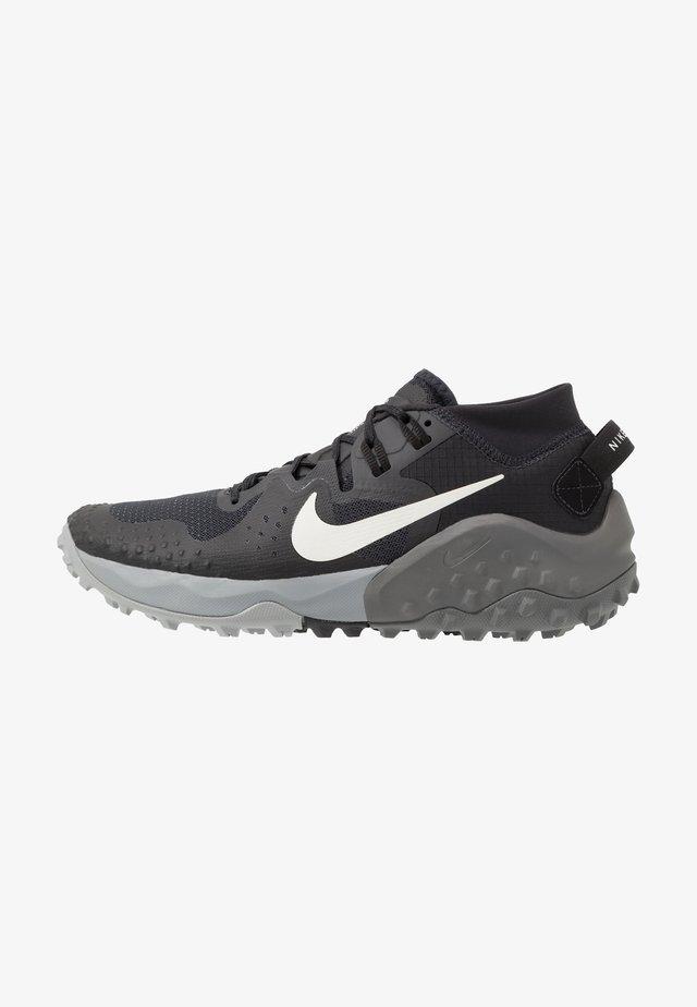 WILDHORSE 6 - Běžecké boty do terénu - off noir/spruce aura/black/iron grey