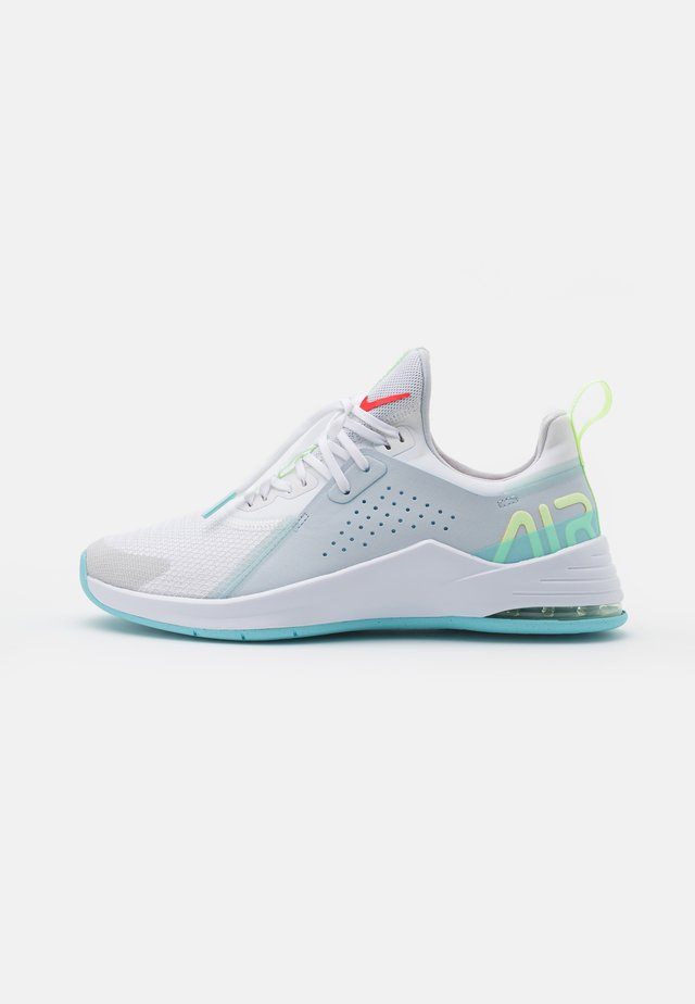 AIR MAX BELLA TR 3 - Neutral running shoes - white/bright crimson/pure platinum