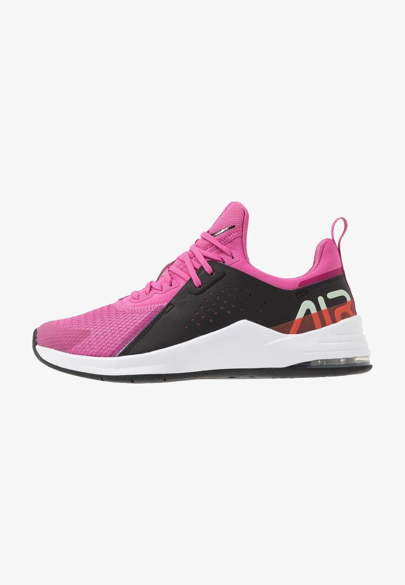 Nike Performance - AIR MAX BELLA TR 3 - Obuwie do biegania treningowe - magic flamingo/black/pistachio frost/team orange/hyper blue/summit white