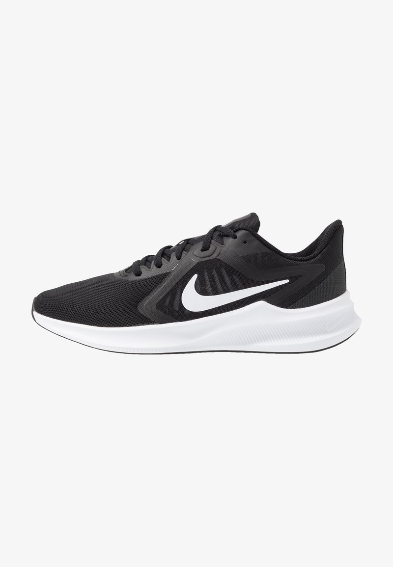 Nike Performance - DOWNSHIFTER 10 - Obuwie do biegania treningowe - black/white/anthracite