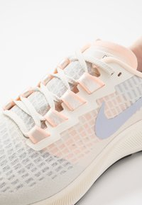 Nike Performance - AIR ZOOM PEGASUS  - Neutral running shoes - pale ivory/ghost/barely volt/sail/fire pink/black - 5