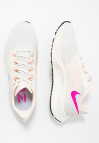 Nike Performance - AIR ZOOM PEGASUS  - Neutral running shoes - pale ivory/ghost/barely volt/sail/fire pink/black - 1