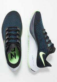 Nike Performance - AIR ZOOM PEGASUS  - Laufschuh Neutral - black/ghost green/valerian blue/spruce aura - 1