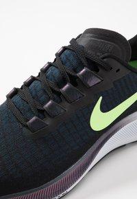 Nike Performance - AIR ZOOM PEGASUS  - Laufschuh Neutral - black/ghost green/valerian blue/spruce aura - 5