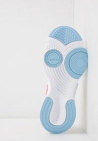 Nike Performance - SUPERREP GO - Sports shoes - pale ivory/team orange/psychic blue/white - 4