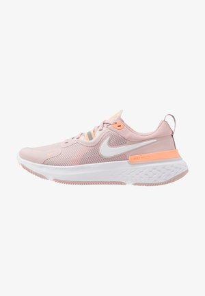 REACT MILER - Neutral running shoes - champagne/white/barely rose/orange pulse