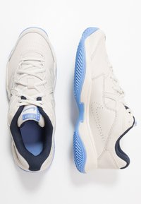 Nike Performance - COURT LITE 2 CLAY - Clay court tennis shoes - light orewood brown/white/royal pulse - 1