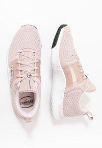 Nike Performance - RENEW IN-SEASON TR 10 - Kuntoilukengät - stone mauve/metallic silver/barely rose - 1