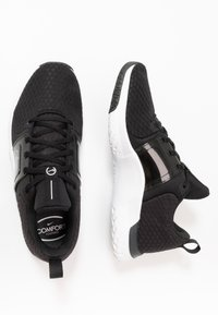 Nike Performance - RENEW IN-SEASON TR 10 - Sports shoes - black/dark smoke grey/white - 1