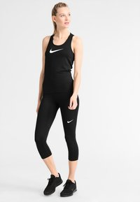 Nike Performance - PRO DRY - Camiseta de deporte - black/white - 1