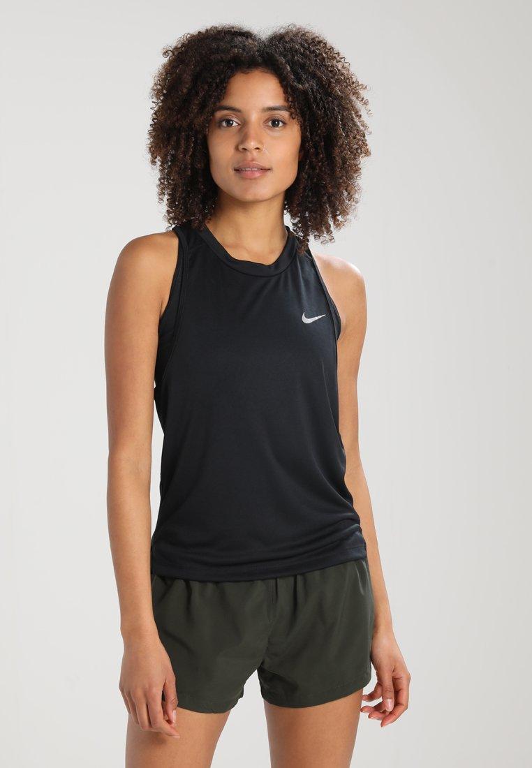 Nike Performance - MILER - Funktionstrøjer - black/reflective silver
