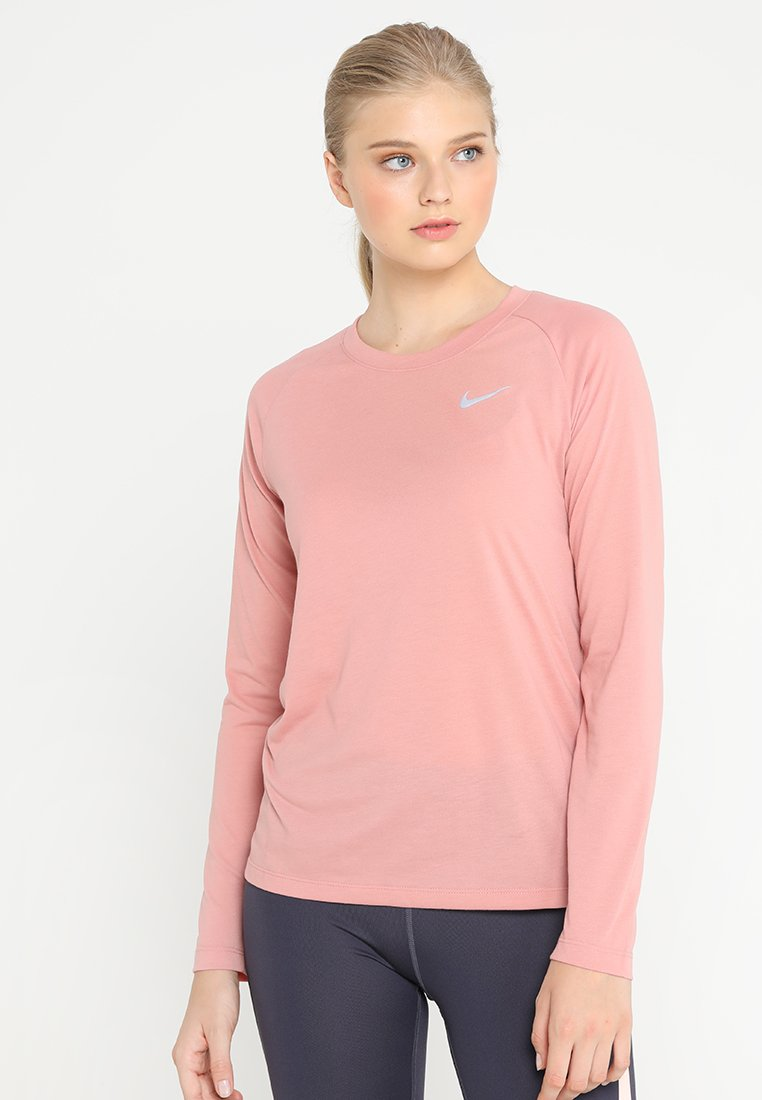 Nike Performance - BREATHE TAILWIND - Funktionsshirt - rust pink/silver