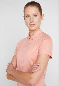 Nike Golf - DRY - T-shirt sportiva - rush pink/flat silver - 3