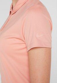 Nike Golf - DRY - T-shirt sportiva - rush pink/flat silver - 5