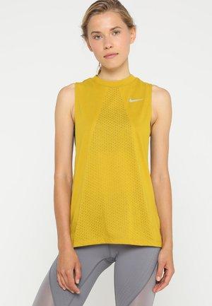TAILWIND TANK COOL - Treningsskjorter - dark citron/reflective silver