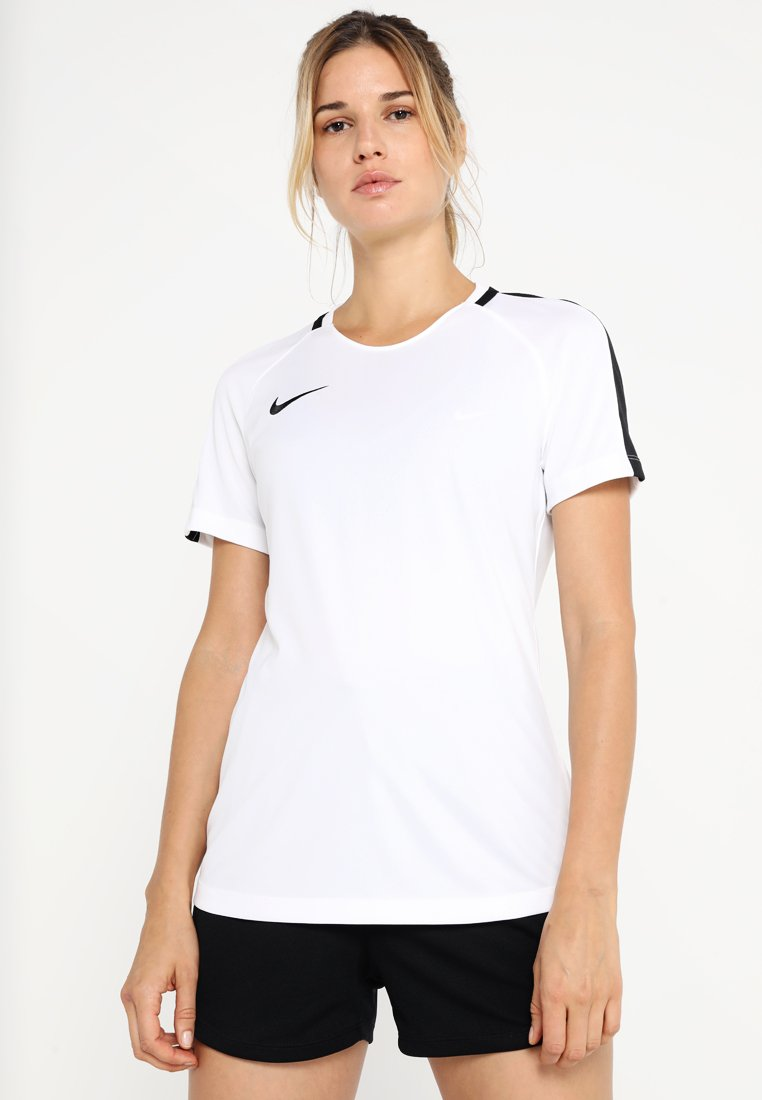 Nike Performance - DRY - T-shirt imprimé - white/black/black
