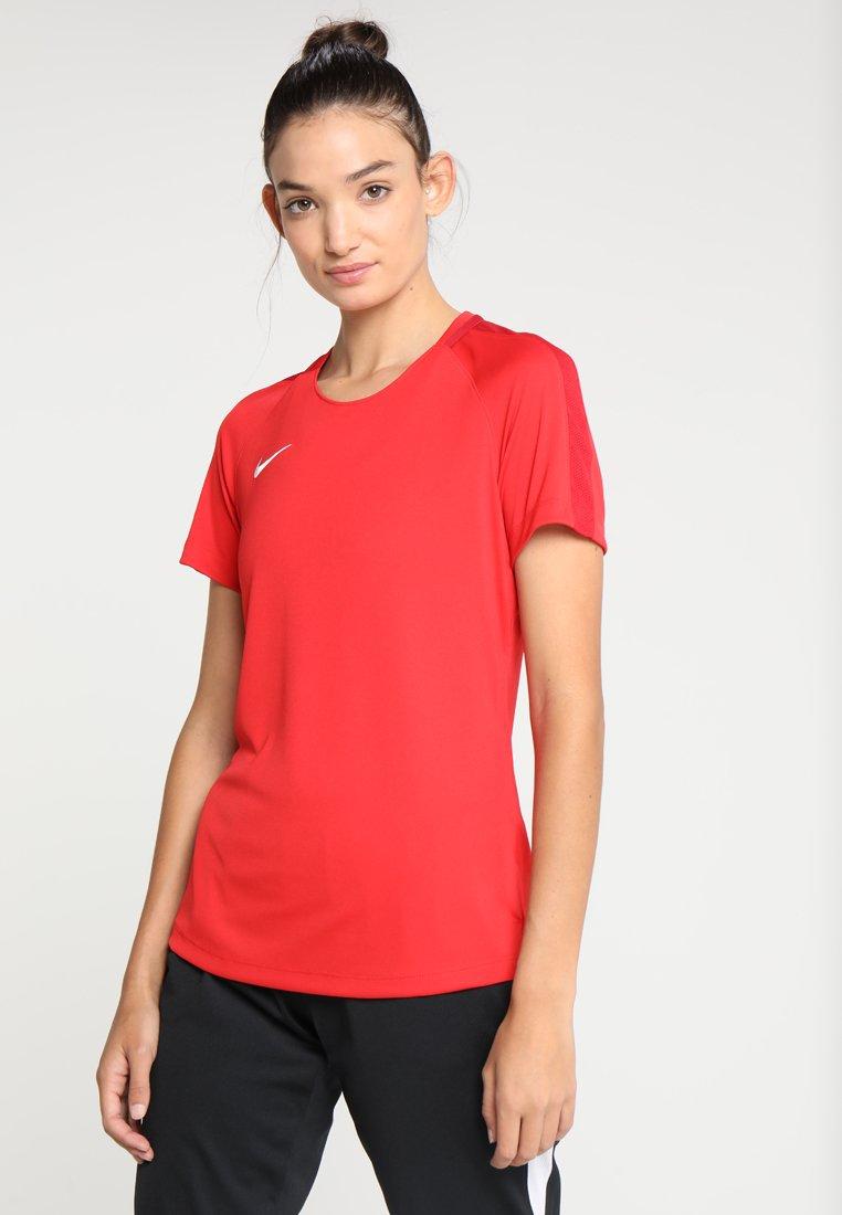 Nike Performance - DRY - T-shirt z nadrukiem - university red/gym red/white