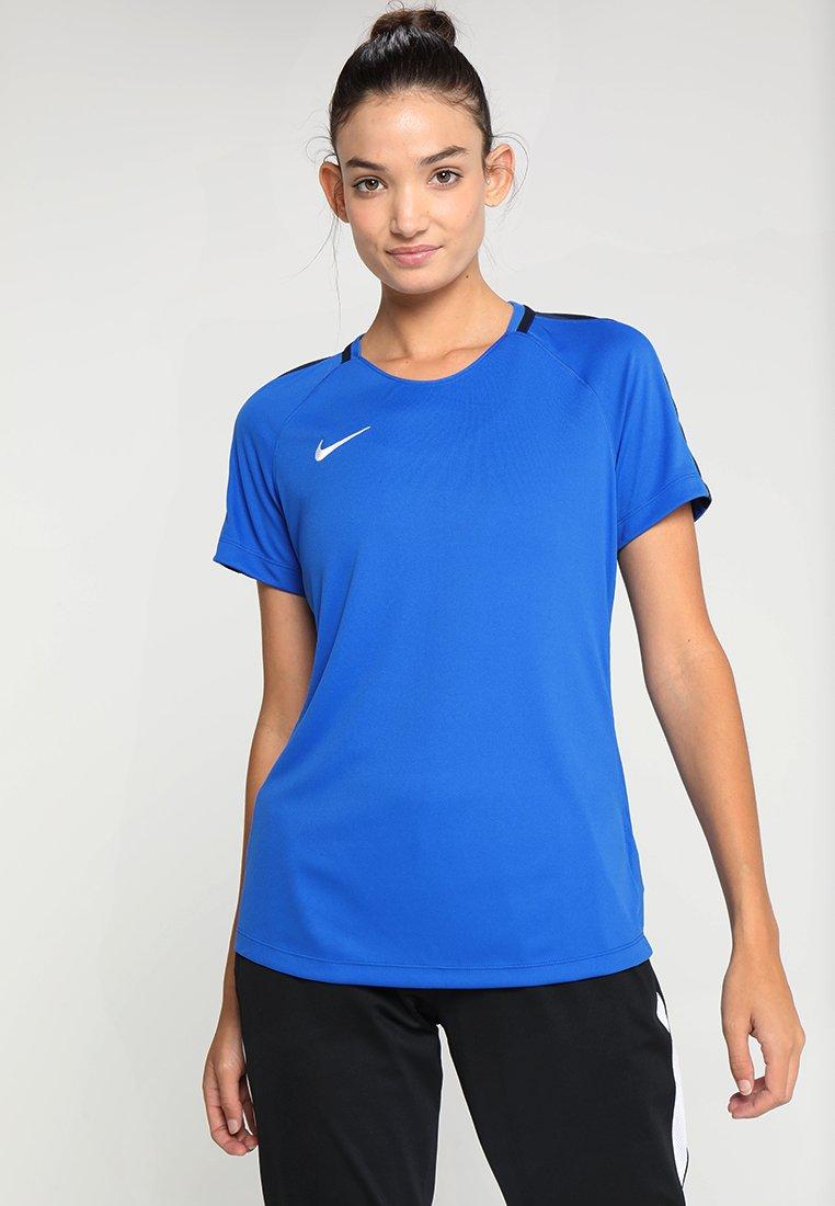 Nike Performance - DRY - T-shirts med print - royal blue/obsidian/white