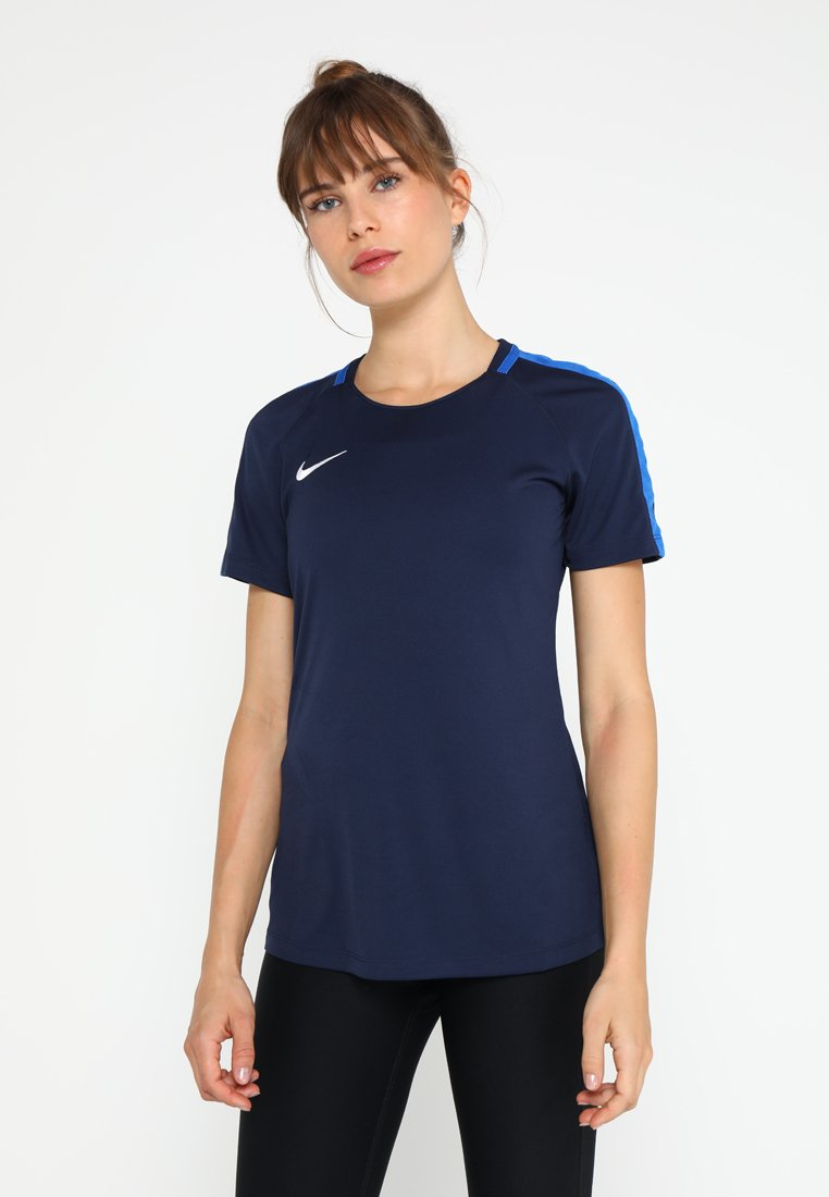 Nike Performance - DRY - T-shirt imprimé - obsidian/royal blue/white