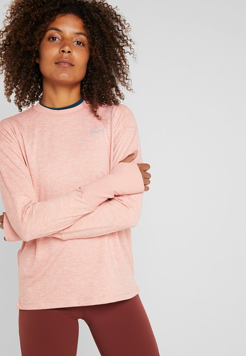 Nike Performance - CREW - Funktionsshirt - pink quartz/echo pink/reflective silver