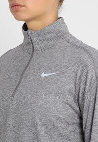 Nike Performance - Tekninen urheilupaita - gunsmoke/atmosphere grey/heather/reflective silver - 6