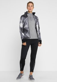 Nike Performance - Tekninen urheilupaita - gunsmoke/atmosphere grey/heather/reflective silver - 1