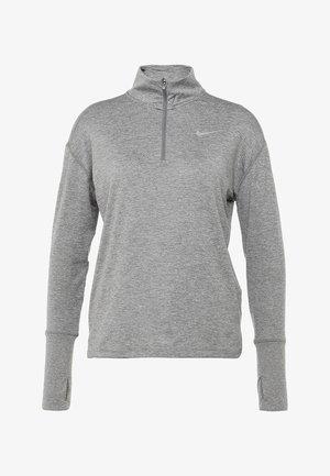 Koszulka sportowa - gunsmoke/atmosphere grey/heather/reflective silver