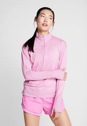 Camiseta de deporte - magic flamingo/heather/silver