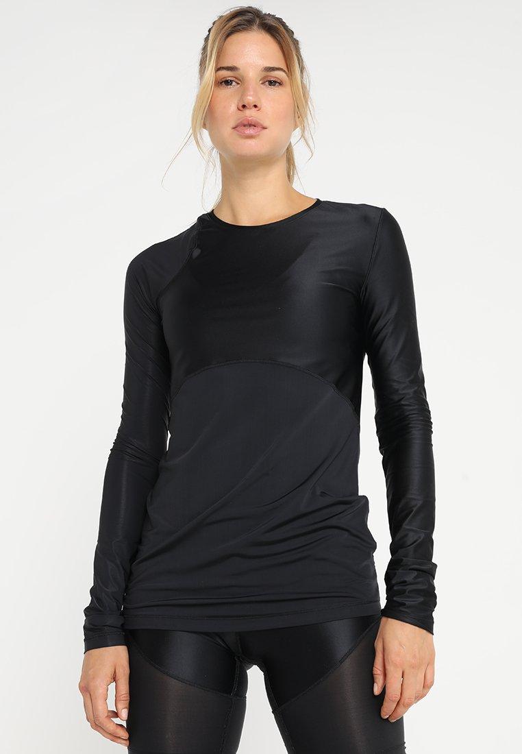 Nike Performance - GLAMOUR PRO HYPERCOOL TRAINING  - Langarmshirt - black/black/anthracite