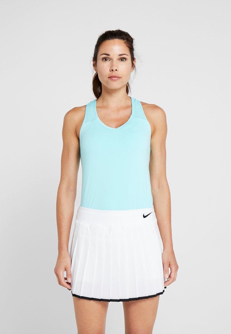 Nike Performance - TANK PURE - Tekninen urheilupaita - light aqua