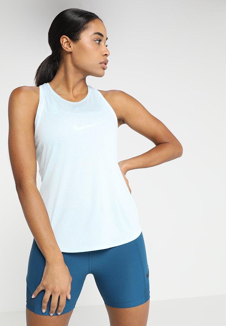 Nike Performance - DRY TANK - Funktionsshirt - topaz mist/white
