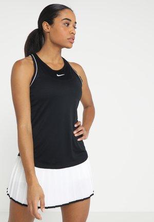 DRY TANK - Sportshirt - black/white