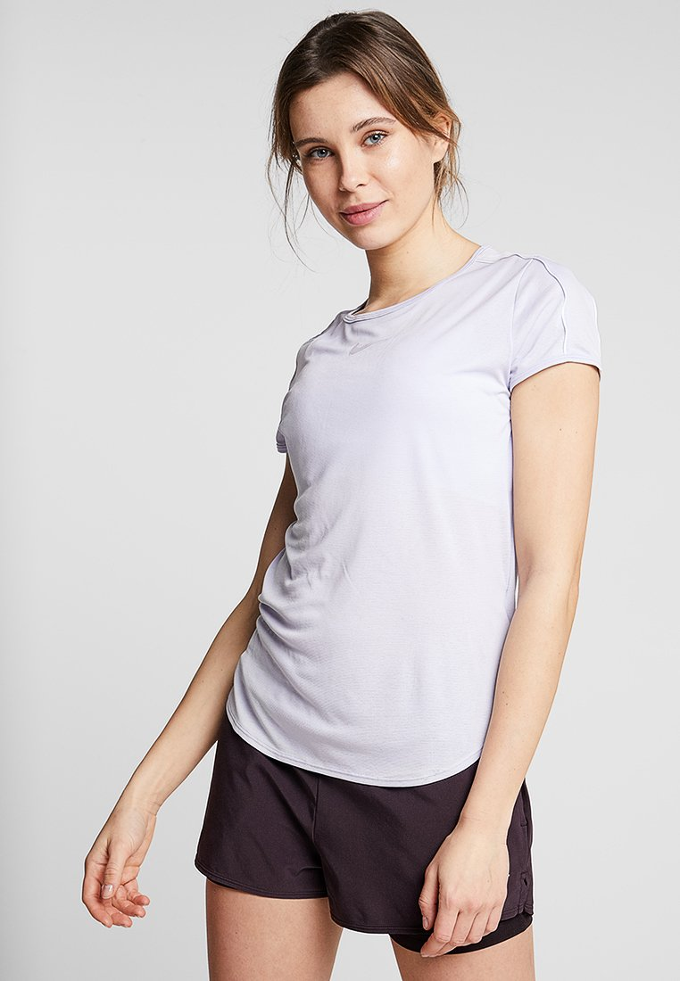 Nike Performance - DRY - T-shirt con stampa - oxygen purple/white