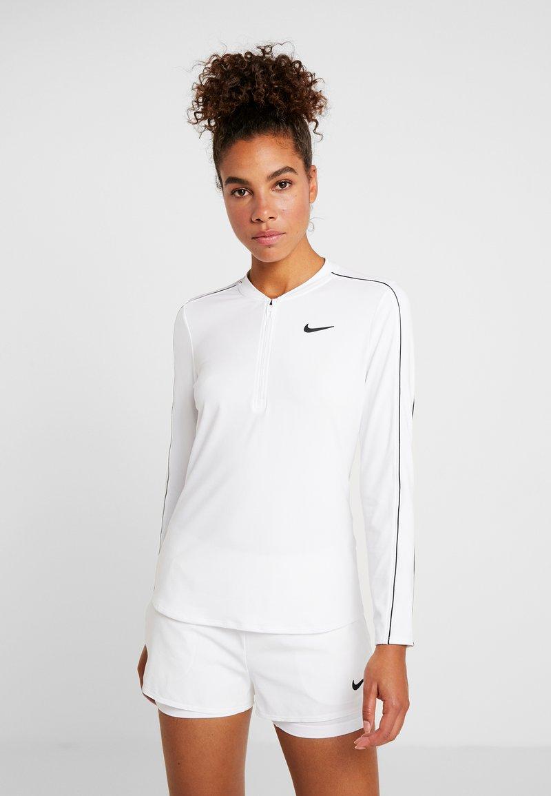 Nike Performance - DRY  - Funktionsshirt - white/black