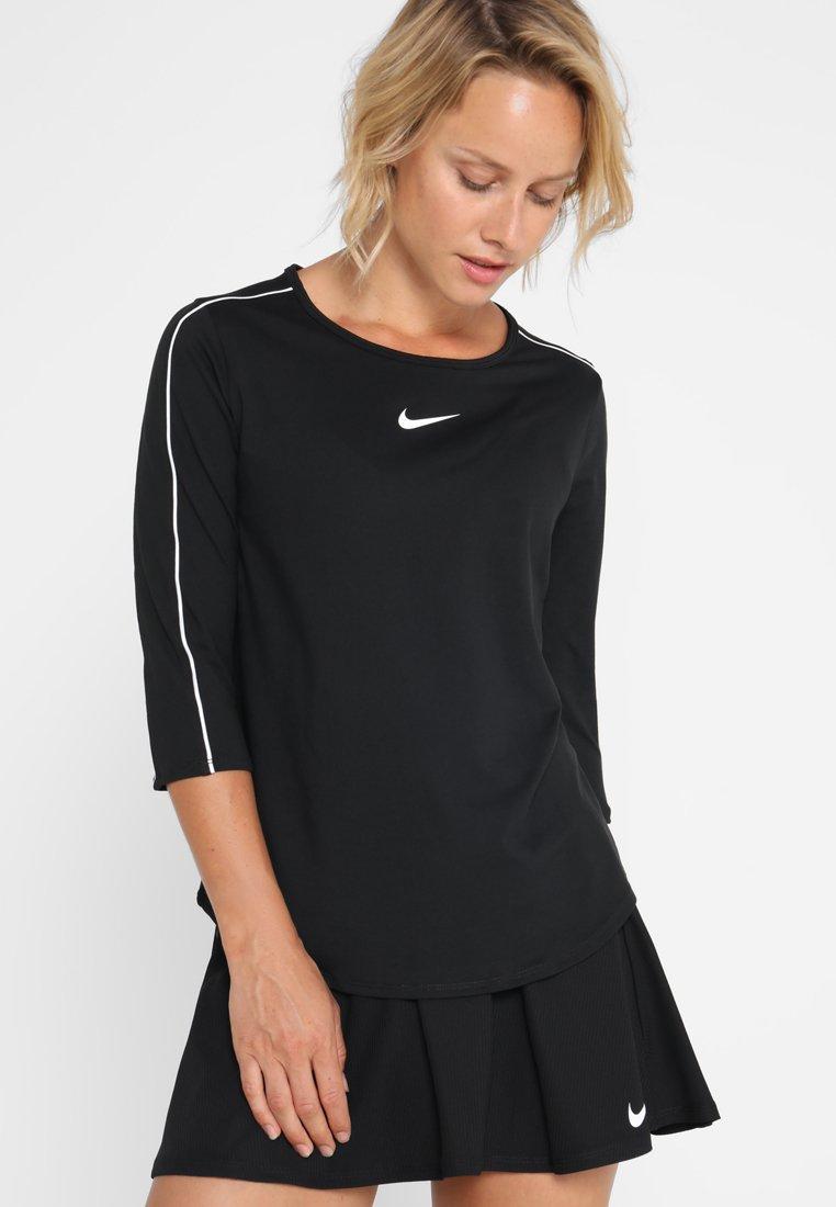 Nike Performance - Funktionstrøjer - black/white