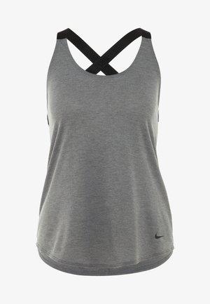 DRY TANK ELASTIKA - T-shirt de sport - dark grey/heather/black