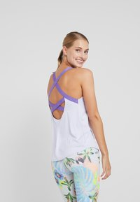 Nike Performance - DRY TANK ELASTIKA - T-shirt sportiva - lavender mist/psychic purple - 2