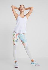 Nike Performance - DRY TANK ELASTIKA - T-shirt sportiva - lavender mist/psychic purple - 1