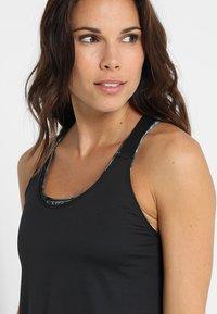 Nike Performance - DRY TANK ELASTIKA - T-shirt sportiva - black - 3