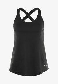 Nike Performance - DRY TANK ELASTIKA - Funktionstrøjer - black - 5