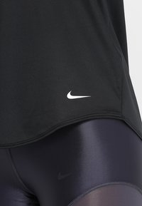 Nike Performance - DRY TANK ELASTIKA - Tekninen urheilupaita - black - 6