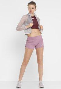Nike Performance - TANK CROP - Top - night maroon/white - 1
