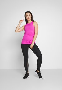 Nike Performance - TANK ALL OVER  - Sports shirt - active fuchsia/black - 1