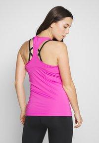 Nike Performance - TANK ALL OVER  - Sports shirt - active fuchsia/black - 2