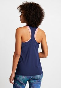Nike Performance - TANK ALL OVER  - Funkční triko - midnight navy/metallic red bronze - 2