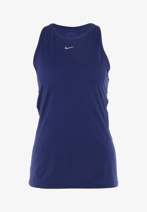 TANK - Sportshirt - midnight navy/metallic red bronze