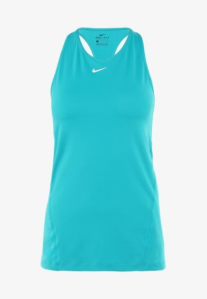 TANK ALL OVER  - Sports shirt - spirit teal/white