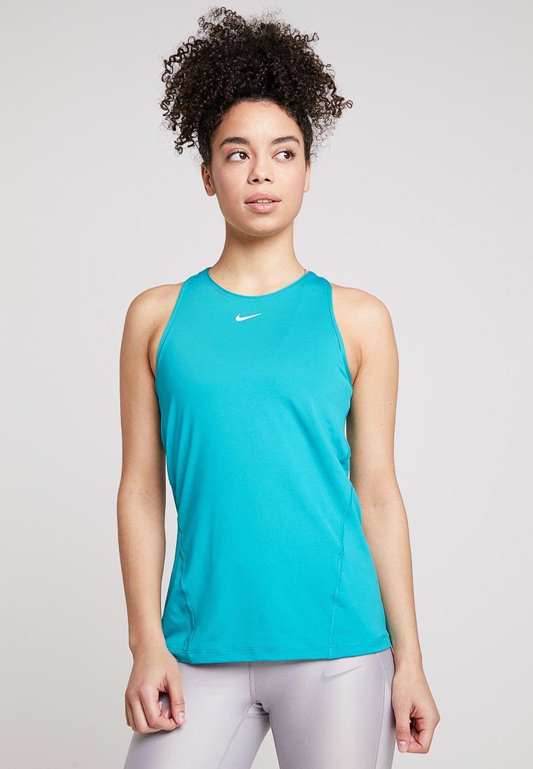 Nike Performance - TANK - Sports shirt - spirit teal/white